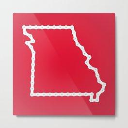Missouri: United Chains of America Metal Print