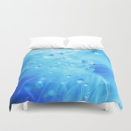 A Poem From Rain III Duvet Cover