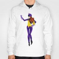 batgirl Hoodies featuring Batgirl by genie espinosa