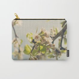 Pear Tree Blossom Carry-All Pouch