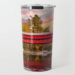 Sift River Sunset Travel Mug