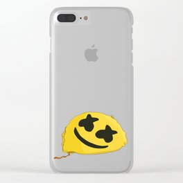 happier Clear iPhone Case