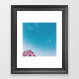 my pop car Framed Art Print