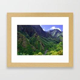 iao magic Framed Art Print