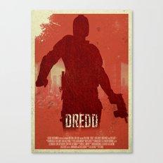 Dredd - I Am The Law Canvas Print