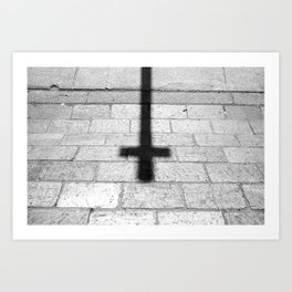 Religion is a 'No Loading at Any Time' road sign. Art Print