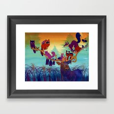 Natural History Museum Framed Art Print