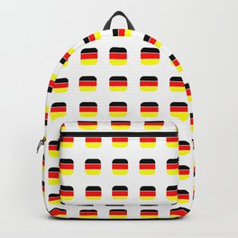 Flag of Germany -with soft square Backpack