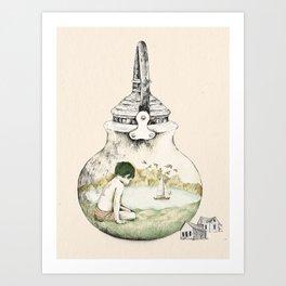Kettle - print Art Print