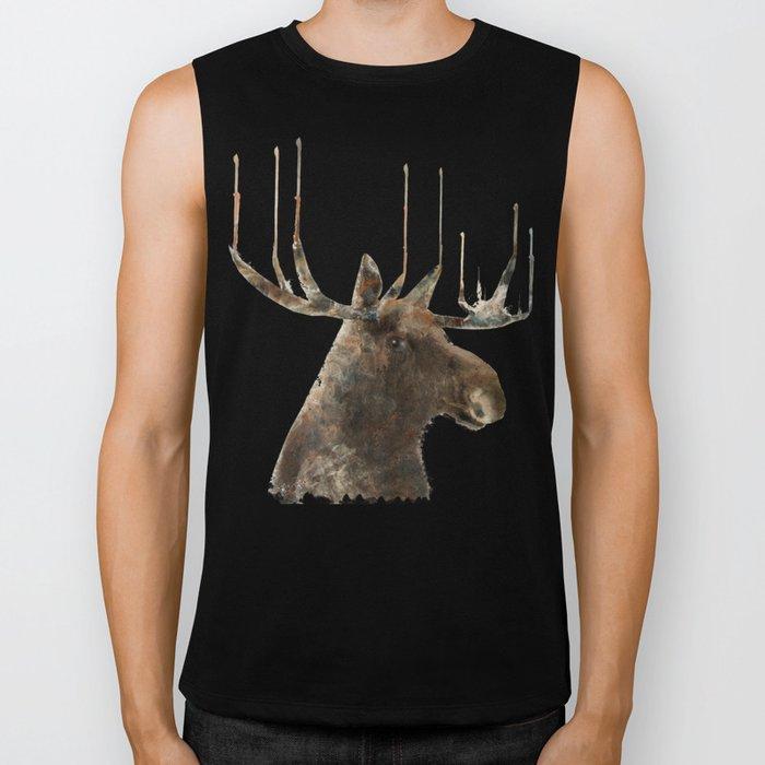 the moose Biker Tank