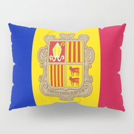 Flag Of Andorra Pillow Sham