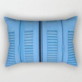 The Blue Window, Milos Rectangular Pillow