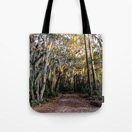 Morning Light in Beaufort, SC Tote Bag