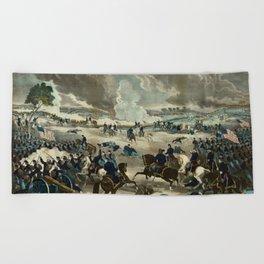 Battle of Gettysburg by Thomas Kelly Beach Towel
