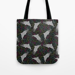 Astro Shark is a Space Oddity Tote Bag