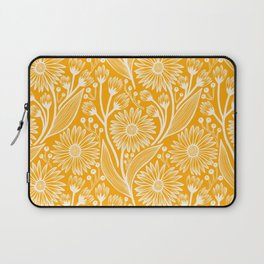 Saffron Coneflowers Laptop Sleeve