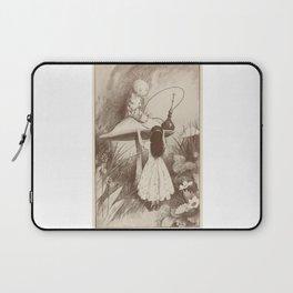 Alice in Wonderland With the Caterpillar Laptop Sleeve