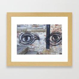 Here's Looking at You, Morgan Framed Art Print