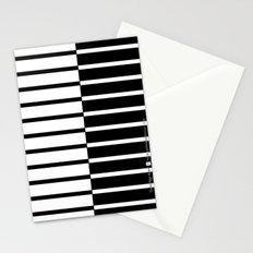 Zebra Plays Piano Stationery Cards
