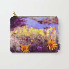 morning walk amid the flower fields Carry-All Pouch