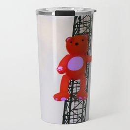 High There Bear Travel Mug