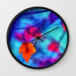 But I miss you most of all my darling, when autumn leaves start to fall... Wall Clock