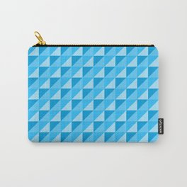 Colorful Square (Blue) Carry-All Pouch
