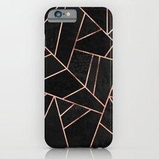 Velvet Black & Rose Gold iPhone 6 Slim Case