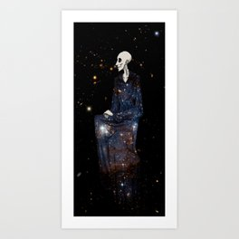 Space Dee Art Print