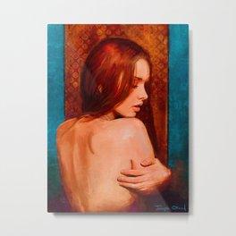 Nude Study No. 8 Metal Print