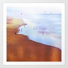 San Francisco Ocean Beach Art Print