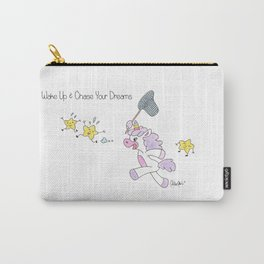 Wake Up & Chase your Dreams Carry-All Pouch