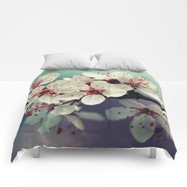 Cherry Blossom, Cherryblossom, Sakura, Vintage Style Comforters