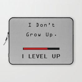 I DOn't Grow Up, I Level Up - Nerd Gamer Laptop Sleeve