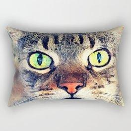 Cat Baxter #cat #cats #kitty Rectangular Pillow