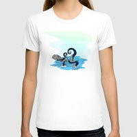 kraken T-shirts featuring Kraken by JKyleKelly