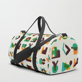 Shape of thoughts Duffle Bag
