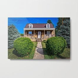 Perfect Little House Metal Print