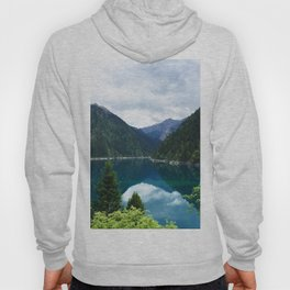 长海 // Long Lake, Jiuzhaigou Hoody