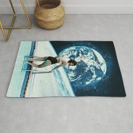 Cosmic Pool Babe Rug