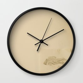 I Once Drew an Old Car Wall Clock