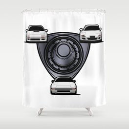 Rx7 Generations Shower Curtain