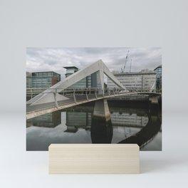 Glasgow Bridge Mini Art Print
