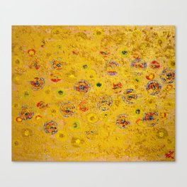 Yellow in my mind Canvas Print
