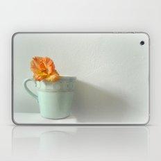 Tangerine Dream ~ orange flower ~ aqua  Laptop & iPad Skin