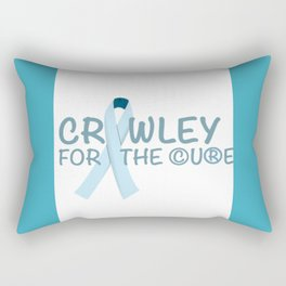 Crawley for the Cure Rectangular Pillow