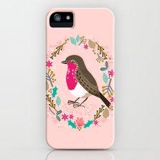 European Robin by Andrea Lauren  Slim Case iPhone (5, 5s)