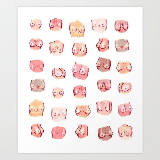 summer tities Art Print