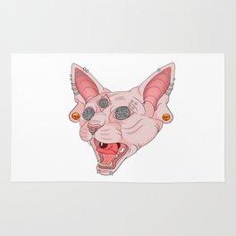 Freaky Kitty v.2 Rug