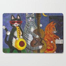Jazz Cats Cutting Board